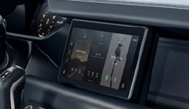 New Defender with New Pivi Pro Infotainment System