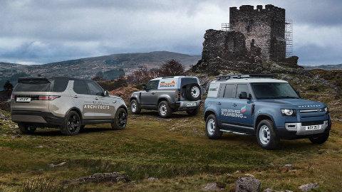Land Rover Commercial Range