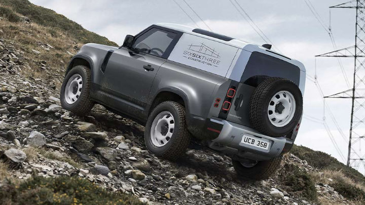Land Rover Defender Hard Top, With Business Livery