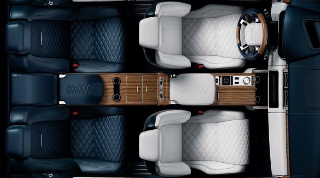 Land Rover SVAutobiography interiors.