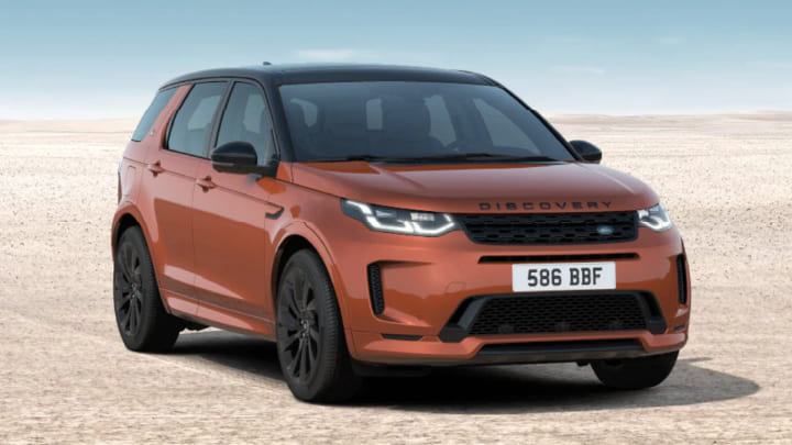 Land Rover Discovery Sport Black