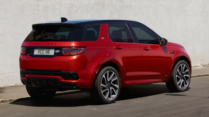 Land Rover Discovery Sport, Exterior, Rear