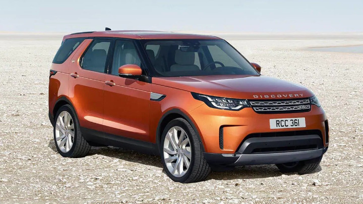 Land Rover Discovery, Exterior, Front