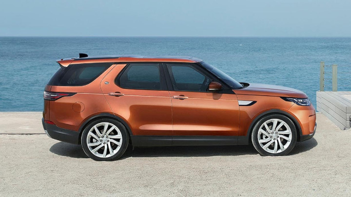 Land Rover Discovery, Side Profile