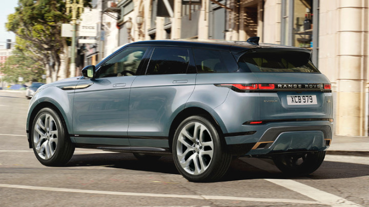 Range Rover Evoque, Exterior, Rear, Driving