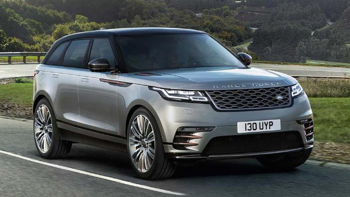 Range Rover Velar, Exterior, Front, Driving