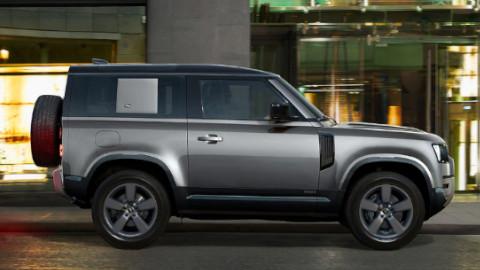 Land Rover Defender Side Profile