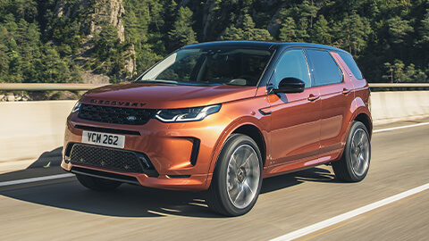 Land Rover Discovery Sport, Front, Driving