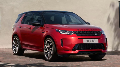 Land Rover Discovery Sport, Exterior, Front