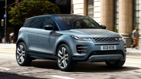 Range Rover Evoque, Exterior, Front, Driving