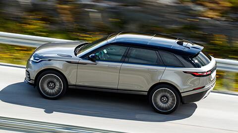 Range Rover Velar Driving