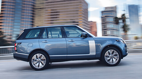 Land Rover Range Rover, Exterior, Side Profile