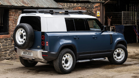 Land Rover Defender Hard Top Rear