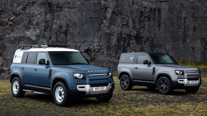 Land Rover Defender Hard Top 90 and 110