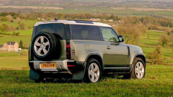 Land Rover Defender 90 Rear