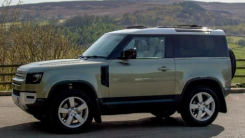 Land Rover Defender 90 Side