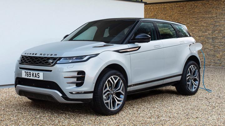 Range Rover Evoque PHEV Front Charging