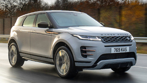 Range Rover Evoque PHEV Front Driving