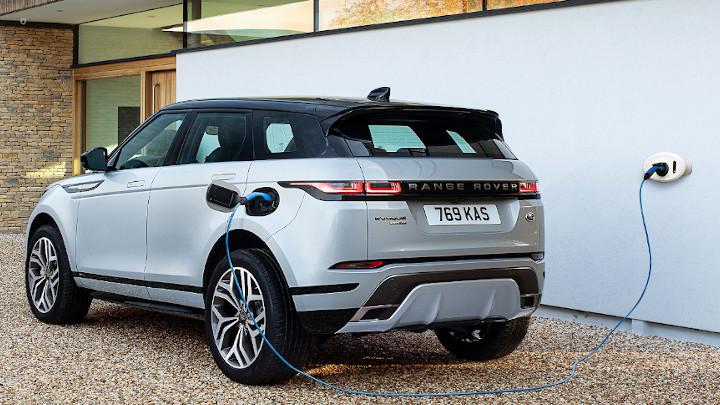 Range Rover Evoque PHEV Rear Charging