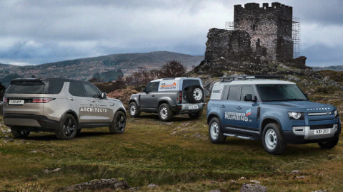 Land Rover Commercial Range