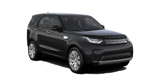 Land Rover Discovery in black.