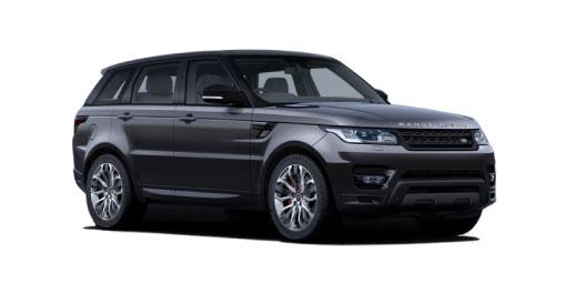 Range Rover Sport in grey.