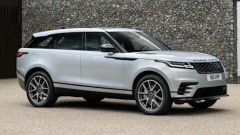 White Range Rover Velar Plug-In Hybrid