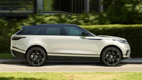Range Rover Velar Side Driving