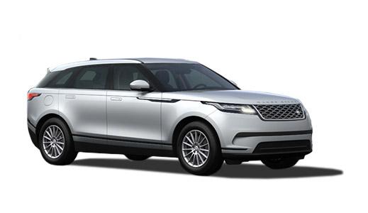 Range Rover Velar in silver.