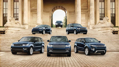 Land Rover Approved Used Range