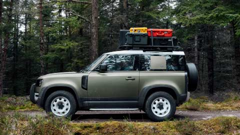 Land Rover Defender 90 Exclusive Preview