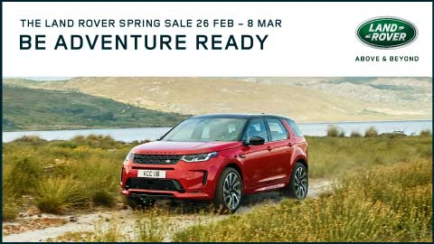 Land Rover Spring Sale Event