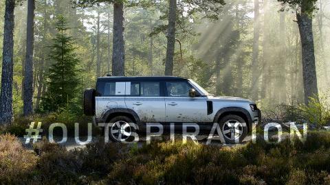 Land Rover Defender Extended Test Drive