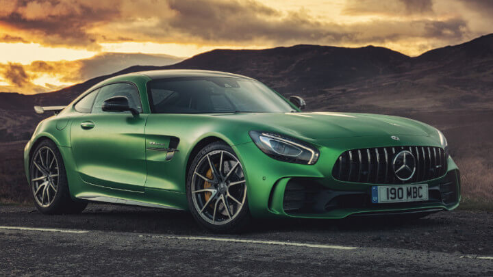 Mercedes-AMG GTR Green