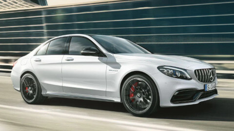 Mercedes-AMG C63 Exterior Front Small
