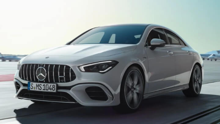 Mercedes-AMG CLA 35 Front Driving Large