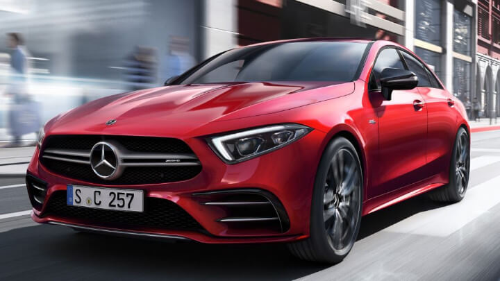 Mercedes-AMG CLS-53 Exterior Front Driving Large