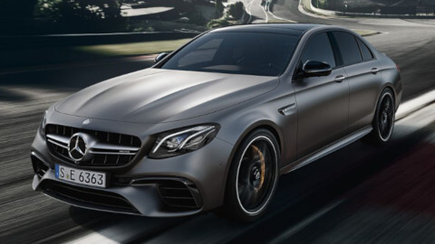Mercedes-AMG E63 Front Driving Small