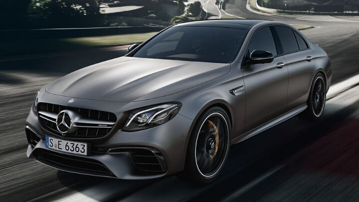 Mercedes-AMG E63 Front Driving Large