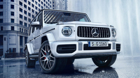 Mercedes AMG G Front