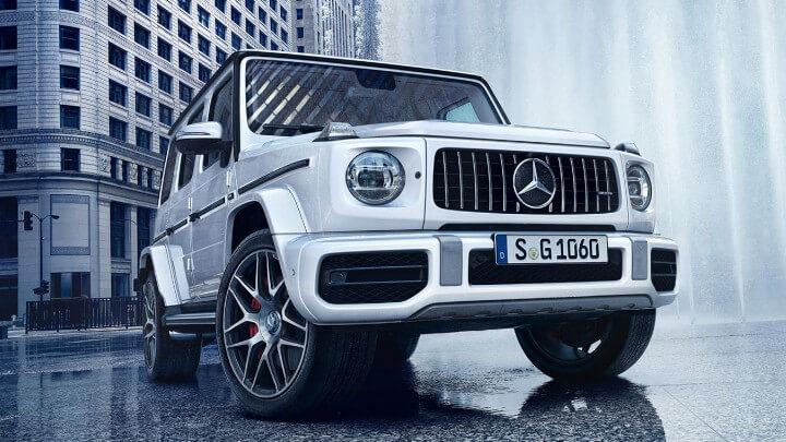 Mercedes AMG G Front Large