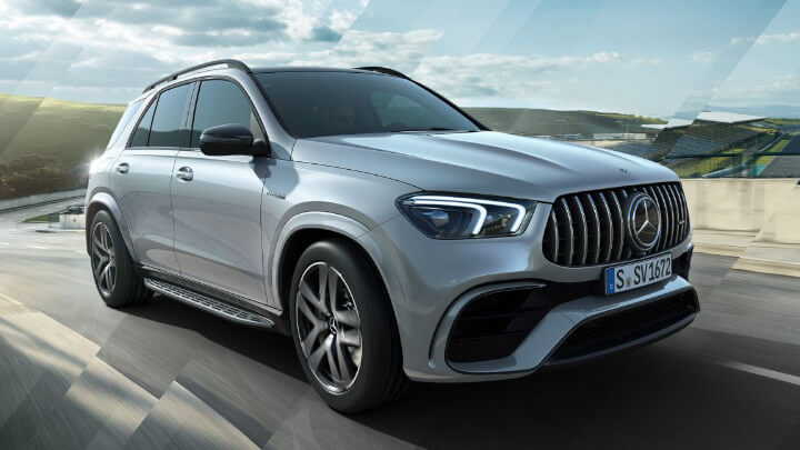 Mercedes-AMG GLE 63 S Exterior Driving