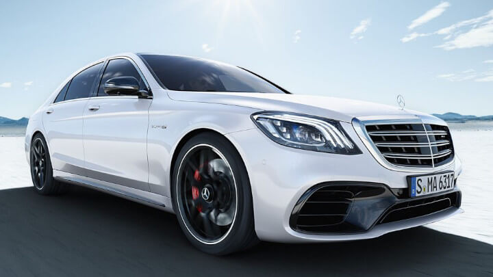 Mercedes-AMG S-Class Exterior, Driving, Front