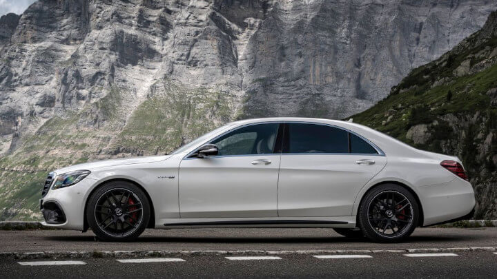 Mercedes-AMG S-Class Side Profile