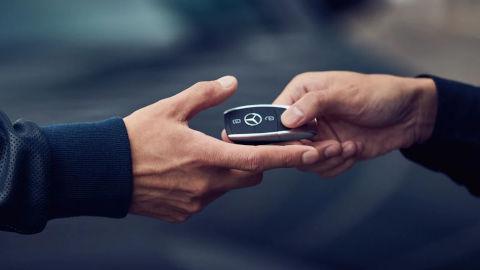 Mercedes-Benz Key Handover