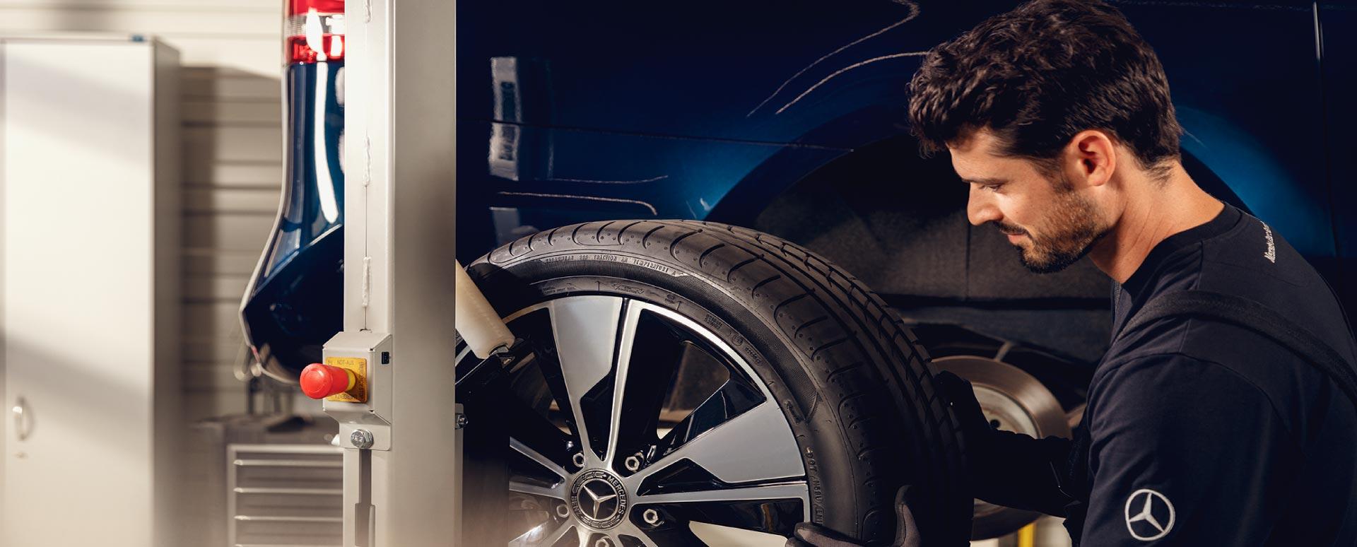 Mercedes-Benz servicing