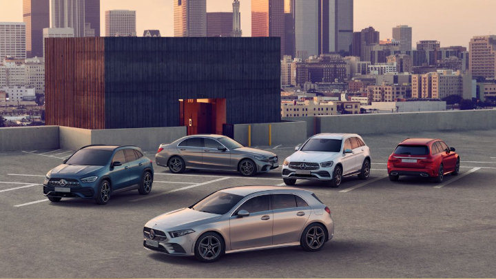 Mercedes-Benz Nearly-New Cars