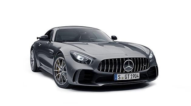 Mercedes-AMG GT R in grey.
