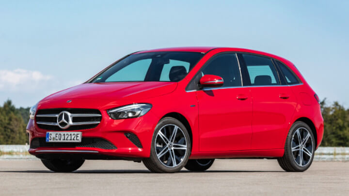 Mercedes-Benz B-Class Plug-in Hybrid Front