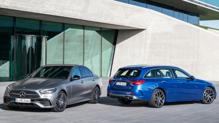 Mercedes-Benz C-Class Estate and Saloon